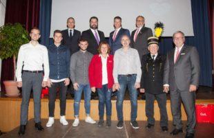 Sparkasse Haslach-Zell würdigt vorbildliche Arbeit im Ehrenamt mit Feierstunde