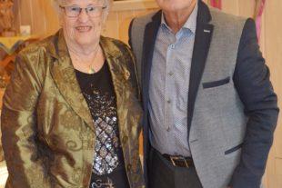 Edith und Walter Glaser feiern das Fest der diamantenen Hochzeit