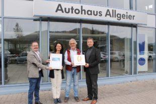 Autohaus Allgeier international unter den Besten!