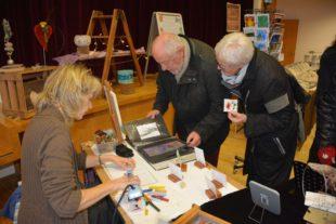 Samstag und Sonntag Hobbykünstler-Ausstellung