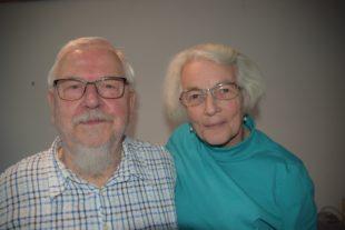 Rudolf und Margarete Volz feiern das Fest der goldenen Hochzeit