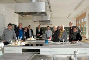 Stadt investiert in die Sanierung der Schulküche