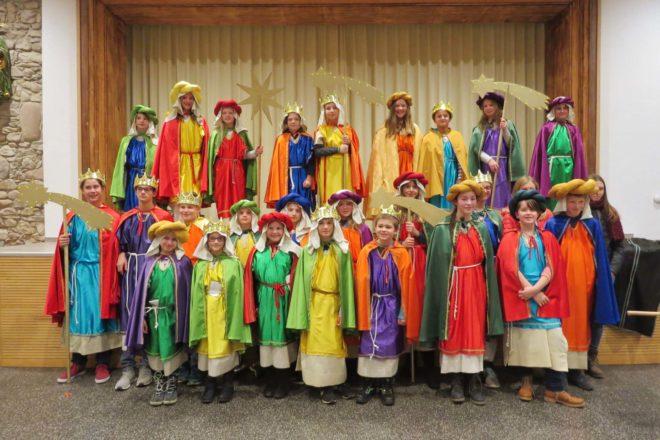 Sternsinger-Treffen in der Klosterhalle