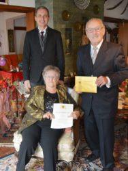 Glückwünsche vom Bürgermeister und vom Ministerpräsidenten