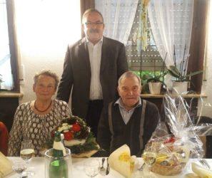 Trachtenkapelle gratuliert zum 85. Geburtstag von Wilhelm Haas