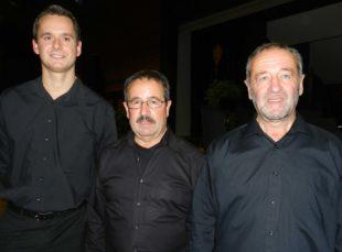 Die Brüder Werner und Herbert Fix sind seit 55 Jahren aktive Musiker