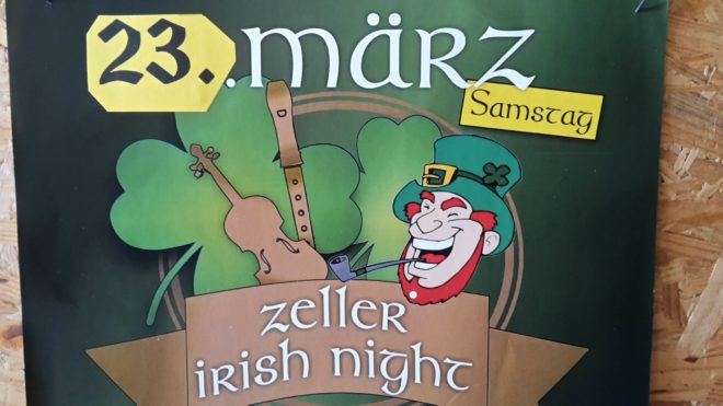 5. Irish Night in zwölf Pubs