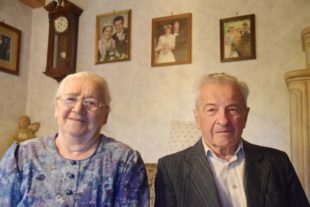 Josef und Rosa Neumayer feiern das Fest der diamantenen Hochzeit