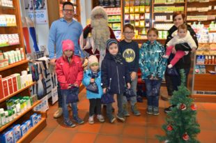 Nikolaus kam zu den Brenner-Kindern