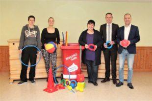 DJK unterstützt Förderprojekt im Kinderhaus Sonnenblume