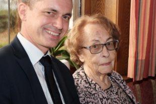 Ruth Lutz feierte gestern ihren 95. Geburtstag