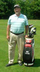 Mike Ceasar war acht Jahre Golflehrer beim Zeller Golfclub