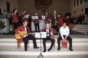 Begeisterndes Kirchenkonzert des Blasorchesters