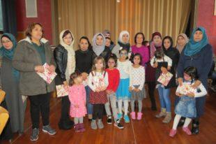 Weihnachtsfeier für Flüchtlinge