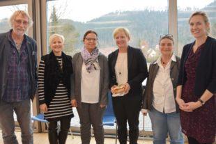 Rektorin Anne-Catrin Medel ist am Zeller Bildungszentrum gelandet