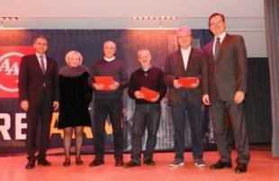 AAM-Werk Zell ehrt 36 Jubilare mit insgesamt 570 Arbeitsjahren