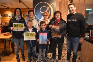 Strahlende Gewinner: Schöne Bescherung beim Handels-und Gewerbeverein