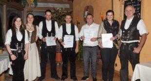 Firma Rombach ehrt Mitarbeiter