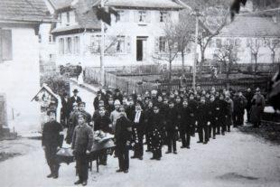 Das letzte Kriegsjahr  in Oberharmersbach
