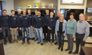 Elektro-Bohnert feiert Jubiläum und Geschäftsübergabe