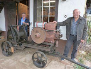 Historische Fläschelmaschine wurde aufwändig restauriert
