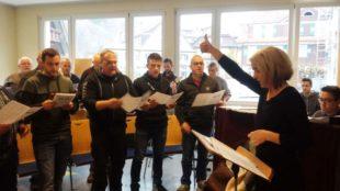 Gesangverein »Frohsinn« bereitet sich auf Neujahrskonzert vor