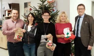 Zeller Kindergärten hatten Besuch vom Nikolaus