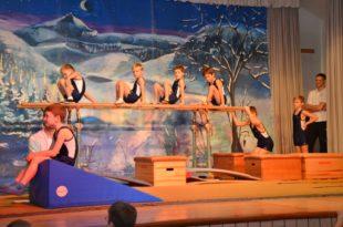 Eine tolle Turnshow zum Nikolausfest