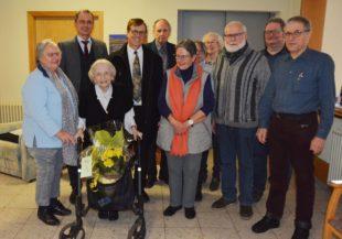 Johanna Braun feierte ihren 98. Geburtstag
