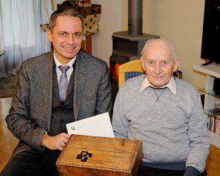 Glückwünsche für Alfons Plener zum 85. Wiegenfest