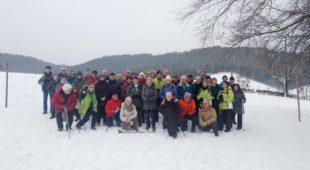 Winterwald, freie Flächen und gute Fernsicht