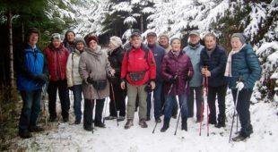 Winterwanderung der Senioren auf dem »Hahn-und-Henne-Weg«
