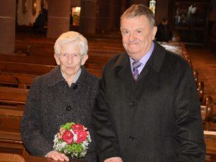 Lydia und Heinrich Repple feierten das Fest der diamantenen Hochzeit