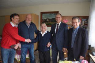 Frieda Oehler feierte 95. Geburtstag