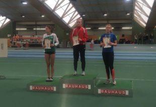 Athletin Cora Maria Burger mit persönlichem Hochsprungrekord