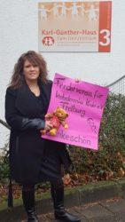 Spende für die Kinderkrebsstation und Geschenke für die Kinder
