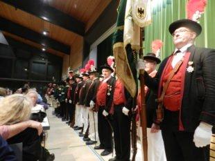 Volles Haus bei Jahresveranstaltung der Bürgerwehr Unterharmersbach
