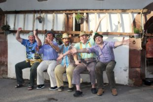 Das »Buurequartett«: Am Fasentmontag zu Gast in Nordrach