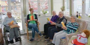 Senioren sind in der Tagespflege gut betreut