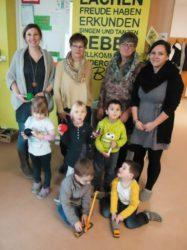 Biberacher Kindergärten freuen sich auf Spielmaterial