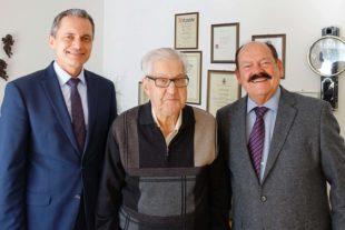 Schmiedemeister Friedrich Riehle feierte seinen 90. Geburtstag