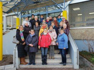 Landfrauen Entersbach besuchen Edeka-Zentrale in Offenburg