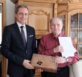 Herzliche Glückwünsche zum 90. Geburtstag von Günther Schwarze
