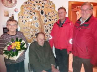 Glückwünsche zum 85. Geburtstag von Karl Kornmayer