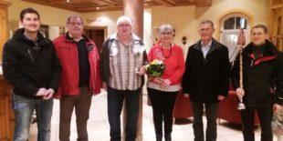 Cölestin Kornmayer feiert mit der Bürgerwehr seinen 70. Geburtstag