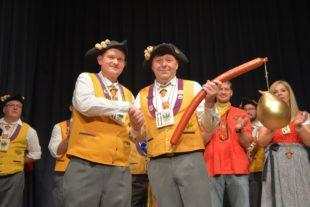Goldene Saubloder für Clemens Halter