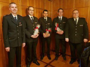 Feuerwehr-Abteilung Zell rückte im letzten Jahr zu 73 Einsätzen aus
