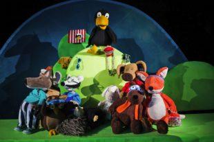 Puppenparade Ortenau: Figurentheater »Rabe Socke – Alles Meins«