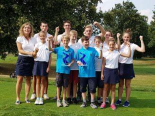 Erfolgreiche Golfjugend