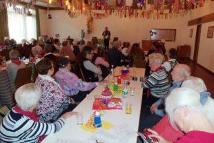 Senioren feierten mit Unterhaltung und Spaß eine schöne Fasend